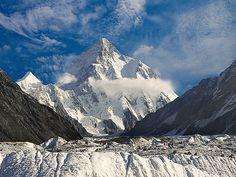 K-2 Mountain Peak from Concordia | Northern Pakistan.