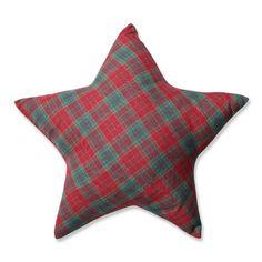Found it at Joss & Main - Plaid Star Throw Pillow