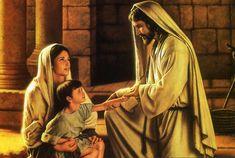 Jesus Heals Young Boy