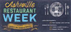 Asheville Restaurant Week 2016