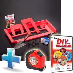 The New Bricky Adjustable Builders Tool PLUS Brick Tape & DIY DVD's