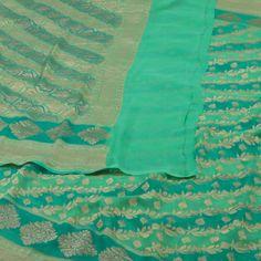 Shivangi Kasliwaal Banarasi Georgette Sari 10001035 - AVISHYA.COM
