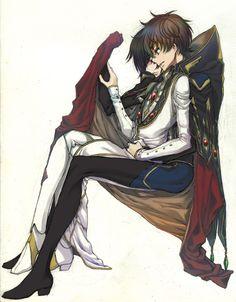 Lelouch and Suzaku.. So sweet!