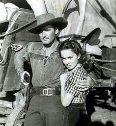 Errol Flynn & Olivia de Havilland - Dodge city