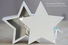 Stampin' Up verschließbare Sternenbox, Stampin up Sternenframelits, Geldgeschenke Weihnachten, Weihnachtsworkshop, Stampin Up Bestellen