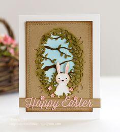 Memory Box Sweet Bunny Happy Easter Card… |