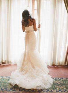 Wedding Photography: KT Merry Photography / Wedding Dress: Vera Wang