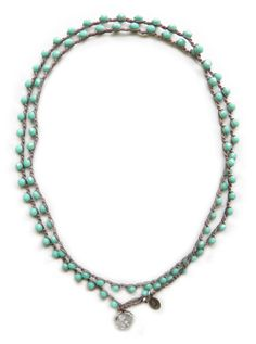 onujewelry.com - 24/7 Turquoise - Eco-chic handcrafted beaded jewelry by Donna Silvestri, On U Jewelry. Richmond, VA