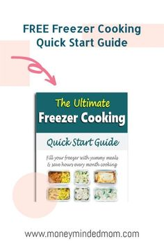 Freezer Meals - If cooking every night leaves you frazzled after a long day's work then you need to try freezer cooking. How nice would it be to get home and not have to wonder what's for dinner? Instead, you'd have a freezer full of easy make-ahead freezer meals that you can dump into your crockpot or instant pot, or a casserole ready for the oven. This guide will help you get started with my best tips and ideas to get food on the table fast whether you are cooking for two or a large… Groceries Budget, Save Money On Groceries, Ways To Save Money, Money Tips, Family Meal Planning, Budget Meal Planning, Meal Planning Printable, Make Ahead Freezer Meals, Freezer Cooking