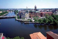 Norrköping, Sweden...where my grandparents live ♡
