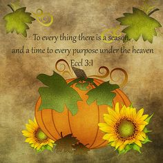 Autumn Harvest Pumpkin Art Print by TnBackroadsPhotos . All prints are professionally printed, packaged, and shipped within 3 - 4 business days. Choose from multiple sizes and hundreds of frame and mat options. Fall Bible Verses, Bible Scriptures, Scripture Quotes, Scripture Images, Biblical Quotes, Harvest Quotes, Thanksgiving Quotes, Thanksgiving Blessings, Happy Thanksgiving