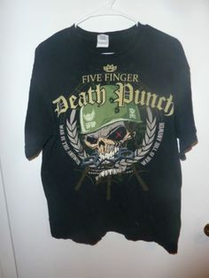 Five-Finger-Death-Punch-War-is-the-Answer-T-Shirt-Large