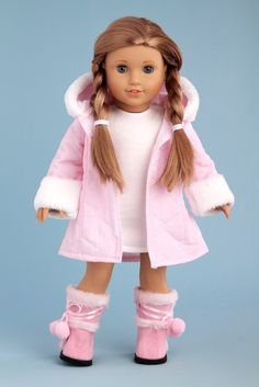 American Girl Doll Play: Baby it's Cold Outside - A GIVEAWAY from DreamWorld Collections!