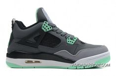 sale retailer f79a0 a5aa0 Discover the Air Jordans 4 Retro Dark Grey Green Glow-Cement Grey-Black For  Sale Cheap To Buy group at Pumarihanna. Shop Air Jordans 4 Retro Dark  Grey Green ...