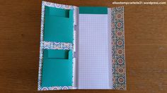 bloc note courses Stampin marocain