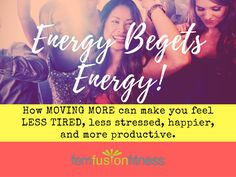 Move More for Better Energy and Healthier Aging