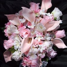 Pink Cala Lily bouquet