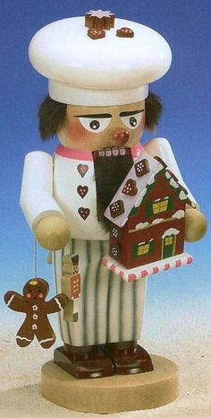 SIGNED Steinbach Gingerbread Baker German Christmas Nutcracker Made in Germany