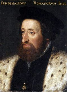 Ferdinand son of Philip the Fair and Queen Juana of Castile.