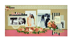 Kaisercraft - Always and Forever - Double Layout Scrapbook Layouts, Scrapbooking, General Crafts, Always And Forever, Craft Items, Flourish, True Love, Paper Crafts, Frame