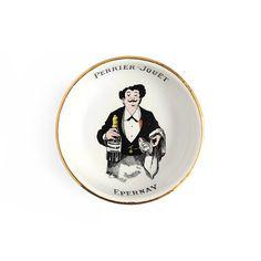 Vintage Perrier-Jouët Epernay Porcelain Ashtray