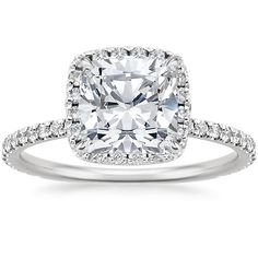 18K White Gold Waverly Diamond Ring (1/2 ct. tw.) from Brilliant Earth  The perfect ring.