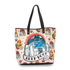 Loungefly x Star Wars: R2-D2 Tattoo Tote - Star Wars - Brands