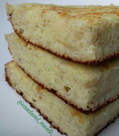 Receita maravilhosa de bolo de coco lowcarb, molhadinho, sem farinha e sem açúcar, para fazer na frigideira! Delicioso, vai ser difícil...
