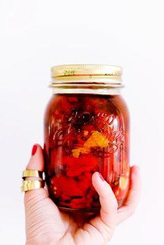 Strawberries from Poland: Pieczona papryka i zarwane noce (papryka cioci Basi)