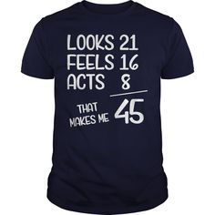 1972 45th Years Old Birthday T-shirt, Hoodie, Tank top