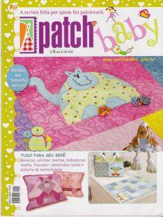 Revistas de manualidades Gratis: patchwork para bebes