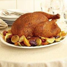 McCormick(R) Savory Herb Rub Roasted Turkey...I used this rub recipe ...