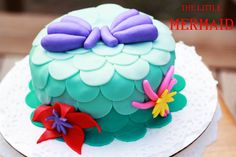 The Little Mermaid  Ariel cake The Cake Fairy