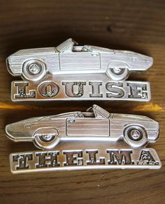 THELMA AND LOUISE belt BUCKLEs - Junk GYpSy co.