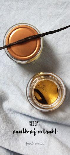 Recept na výrobu přírodního domácího extraktu z vanilky