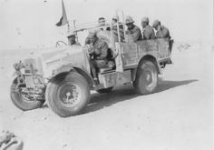 Free French Moroccan Spahis platoon on Morris Commercial CS8, date and location unknown - pin by Paolo Marzioli