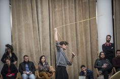 Encuentro Coreográfico Sala Arrau - Temporada II. Matilde Amigo / Junta. Foto: Patricio Melo