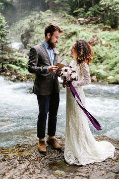elopement in the mountains, photo: Fräulein Zuckerwatte - Hochzeitsguide