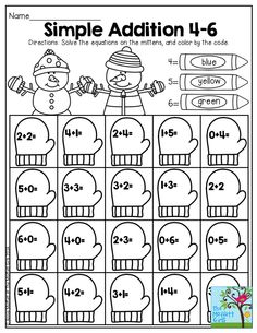 Digraph Graphing! Read the digraph words on the mittens
