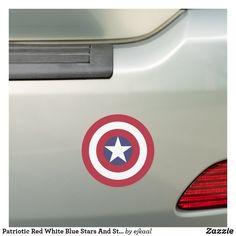 Car Magnets, Old Glory, Volkswagen Logo, American Revolution, Red White Blue, Artwork Design, Bumper Stickers, Digital Prints, Flag