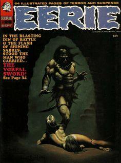 EERIE#29 Cover Art - Ken Kelly