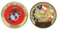 USMC VETERAN COIN ITEM #CC-403