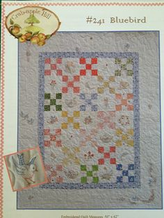QUILTSY DESTASH PARTY Quilt Pattern  Bluebird by backporchquilts on Etsy
