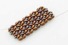 Lux bracelet full tute. #Seed #Bead #Tutorials