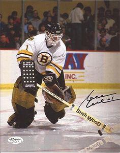 Hockey Goalie, Hockey Games, Ice Hockey, Boston Bruins Hockey, Goalie Mask, Boston Sports, Good Ol, Hockey Stuff, Baseball Cards