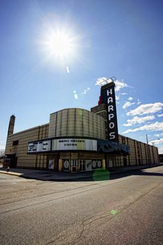 Harpos Concert Theatre - Detroit Michigan. I saw many a concert here in the 80s.