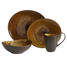 Tiger Eye Dinnerware I love these