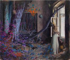 ART by Jonas Burgert: colours & fantasy