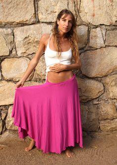 MAXI LONG SKIRT Circle Skirt Full Long Skirt by TornaSolDesign, $55.00