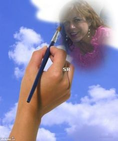 drawing you at the sky